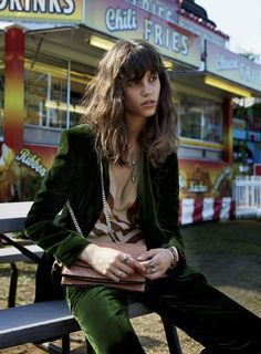 Antonina Petkovic for Elle US September 2014 by Yelena Yemchuk