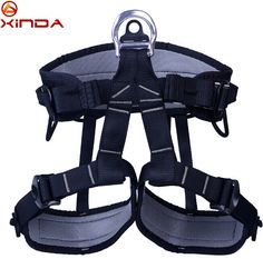 XINDA Outdoor Hiking Rock Climbing Half Body Waist Support Safety Belt Harness Aerial Equipment Rappelling Safety Belt