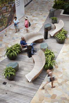 International Market Place : International Market Place is part of Shopping mall interior - Plaza Design, Mall Design, Retail Design, Public Seating, Outdoor Seating Areas, Garden Seating, Urban Landscape, Landscape Design, Garden Design