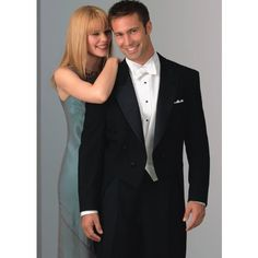 Neil Allyn One Button Peak Lapel Full Dress Tailcoat and Adjustable Pants