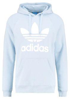 """Adidas light blue hoodie"" by tiffanyxfigueroa on Polyvore featuring adidas Originals"