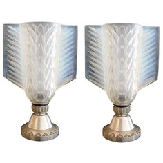 Art Deco Pair of Table Lamps | From a unique collection of antique and modern table lamps at http://www.1stdibs.com/furniture/lighting/table-lamps/