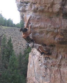Shelley on Slate @ The Pit (Flagstaff AZ)  Leading