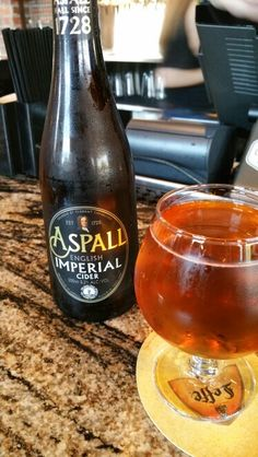 Found Aspall Cider at World of Beer in Plano. Was my favorite in London.