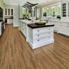 5 In X 36 In Cross Wood Resilient Vinyl Plank Flooring