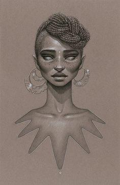 Moondust: Afrofuturist Artwork