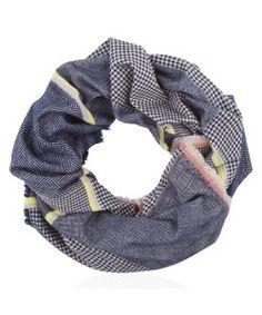 grote sjaal blauw
