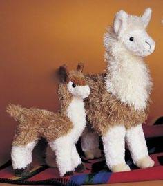 Alpaca Plush Toy  $7.95-$19