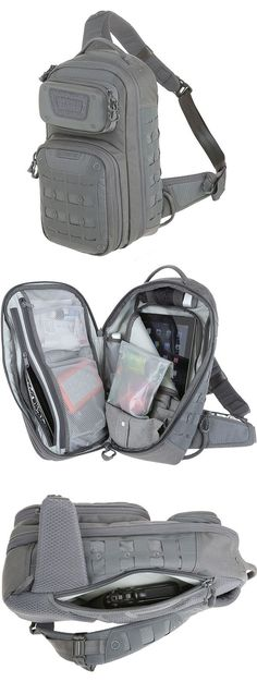 The GRIDFLUX™ sling pack from the Maxpedition Advanced Gear Research line can ...
