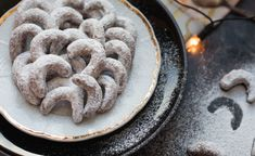 Vanilkové rohlíčky ze špaldové mouky