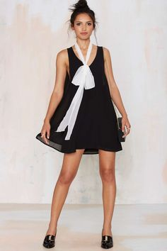 Fly or Die Cape Dress - Black   Shop Clothes at Nasty Gal!