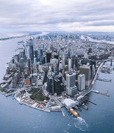 New York City by @erwnchow @copterpilot - New York City Feelings