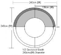 Round Booth Seating - Large 1/2 Circle Banquet Seating, Booth Seating, Banquette Seating Restaurant, Paella Party, Restaurant Booth, Restaurant Furniture, Contract Furniture, Commercial Furniture, Table Furniture