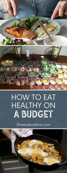 When you're on a tight budget, it can feel like you don't have any options if you're trying to eat healthy. Sometimes it can feel like all the healthy food is overpriced and it isn't going to fill you up like the cheaper processed foods can. Cooking On A Budget, Budget Meals, Budget Recipes, Healthy Fruits, Eat Healthy, Healthy Meals, Low Carb Recipes, Healthy Recipes, Easy Recipes