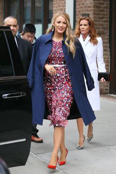 BLAKE LIVELY Leaves Her Hotel in New York 02/15/2017