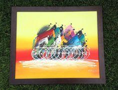 Artwork - Painting Tour de France