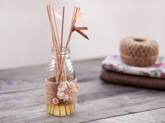 How to make Handmade Reed Diffuser