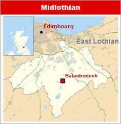 Commanderies templières dans le Lothian, Écosse