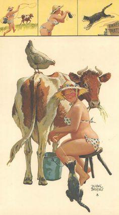 farm girl Hilda