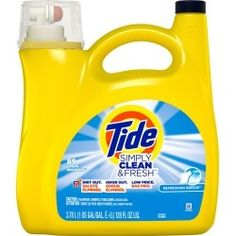 Tide Laundry Detergent, Homemade Laundry Detergent, Tide Simply Clean, Baking Soda Laundry, Mini, Breeze, Washing Machines, Walmart, Shopping Deals