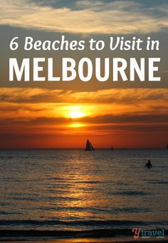 6 Melbourne Beaches You Must Visit - Australia travel tips The beaches in Melbourne are surprisingly good if you know where to go. Check out these Melbourne beaches we recommend visiting. Visit Australia, Melbourne Australia, Australia Travel, South Australia, Australia 2018, Western Australia, Great Barrier Reef, Sunshine Coast, Cairns