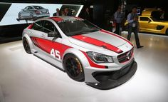 Mercedes-Benz CLA45 AMG Racing Series Concept - Auto Shows