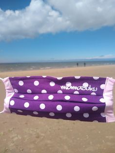 Take care of yourself & others - even on holiday! With a miamasuku® everyday mask you are always in top style, even on the beach! School Enrollment, Buy Mask, Mask Making, Strand, Masks, Beach, Holiday, Top, Color