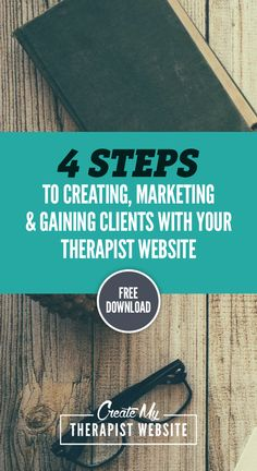 Download the 4 Steps to Creating a Successful Therapy Website. These are the same steps I used to build and grow all the websites for my freelance web design business (including the site I made for my wife's successful private therapy practice).