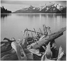 There is a signed copy of this hanging above my desk.  Ansel Adams
