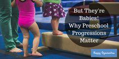 Why Preschool Gymnastics Progressions Matter — Happy Gymnastics Gymnastics Warm Ups, Toddler Gymnastics, Preschool Gymnastics, Gymnastics Gym, Gymnastics Photos, Gymnastics For Beginners, Gymnastics Lessons, Gymnastics Coaching, Gymnastics Conditioning
