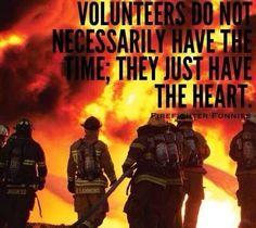 Volunteer Firefighters #VolunteerFirefighter #Firefighter