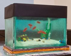 Today is my darlings birthday, and as I've mentioned in previous posts he's a little obsessed with saltwater aquariums at the moment.  For h...
