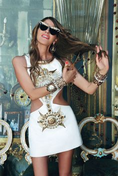 Photo by Pierpaolo Ferrari  Ah, the true sign of the fashion week apocalypse, the indomitable Anna Dello Russo. Hey girl!