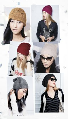 Must have for fall/winter: A chunky knit beanie. Want soooo bad! Romantic Clothing, Romantic Outfit, Autumn Winter Fashion, Fall Winter, Cool Outfits, Fashion Outfits, Just Style, Stylish Hats, Cold Weather Outfits