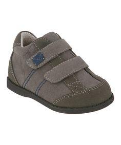 Love this Gray Sam Suede Sneaker by FootMates on #zulily! #zulilyfinds