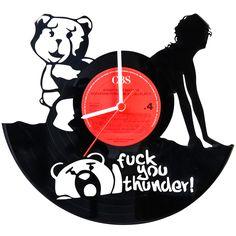 Entdecke jetzt deine Schallplattenuhr Fuck You Thunder auf GRAVURZEILE.de ✓ schneller Versand ✓ top Kundenservice ✓personalisierbare Geschenkideen. Jetzt bei GRAVURZEILE inspirieren lassen!