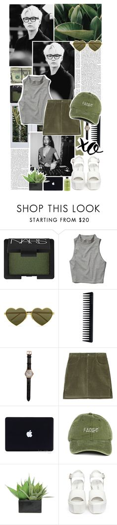 """""""« O5  .  loner  /  kali uchis  . »"""" by onejimin ❤ liked on Polyvore featuring NARS Cosmetics, Abercrombie & Fitch, Wildfox, GHD, Shinola, Lux-Art Silks, Opening Ceremony, philosophy and xO Design"""
