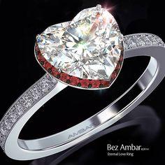 Steal my heart Diamond Rings, Diamond Jewelry, Jewelry Rings, Jewellery, Heart Engagement Rings, Beaded Rings, Love Ring, Amethyst, Bling