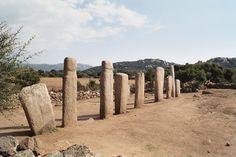 Menhirs de Stantari - Sartène, France;  photo by Hagardunor, via Panoramio