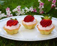 Jednoduché jahodové tartaletky Portobello, Pina Colada, Naan, Tahini, Gnocchi, Mini Cupcakes, Hummus, Red Velvet, Cheesecake