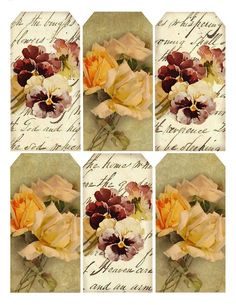 Autumn's Crowning Glory.... tags, paper, etc.... lots of different choices in this same color/design