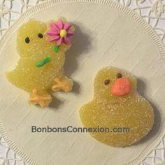 Easter jelly candy kabob toppers - Figurines de gelée pour brochettes de Pâques