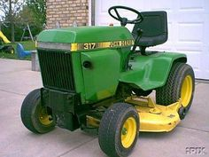 John Deere And Decks On Pinterest