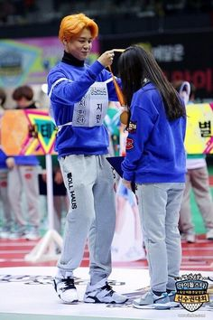 "BTS at 2016 ""Idol Star Athletics Championships"" Lunar New Year Special Foto Bts, Bts Photo, Jimin Fanart, Bts Girl, Bts Boys, Bts Taehyung, Bts Bangtan Boy, Yoonmin, Jimi Bts"