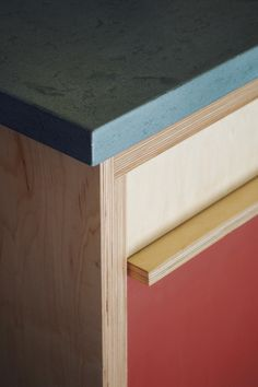 custom plywood cabinetry -- Hart Wright Architects