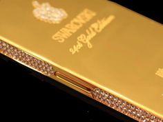 iPhone 5 Indulge in Classic Gold Swarovski Edition Apple Iphone 5, Classic Gold, Swarovski Crystals
