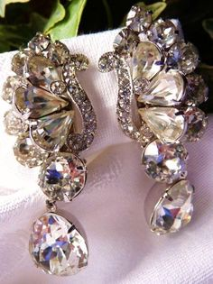 Incomparable and magnificent...these are simply the most beautiful earrings I have ever seen in person...when I first showed these to my