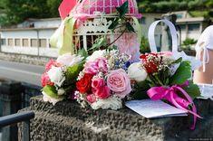 Farfetch Italy - Designer Luxury Fashion for Men & Women Chicano, E Design, Wedding Bouquets, Floral Wreath, Bridesmaid, Wreaths, Table Decorations, Pink, Home Decor