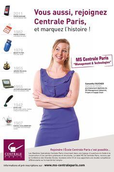 Réalisation de la campagne MS Centrale Paris