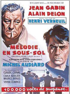 Mélodie en sous-sol est un film de Henri Verneuil avec Jean Gabin, Alain Delon. Synopsis : A peine sorti de prison, Charles, un truand à la retraite, refuse de s'acheter une bonne conduite. Ce dernier décide de monter un gros casse: le cambr